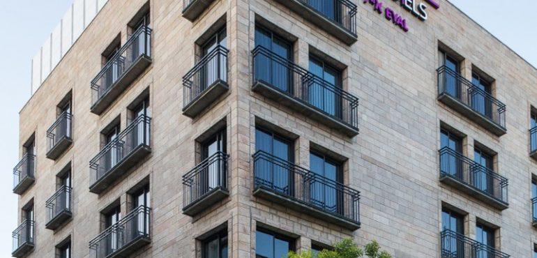 מלון אייל ירושלים – מבט מהחזית