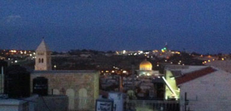 מלון אימפריאל החדש ירושלים בלילה
