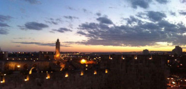 מלון אימפריאל החדש ירושלים – נוף לילי