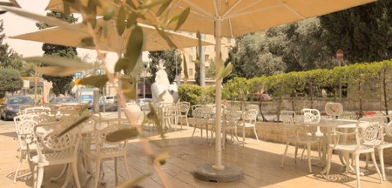 מלון אלדן ירושלים – מרפסת המלון