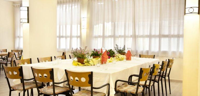 מלון ארקדיה טבריה – חדר אוכל