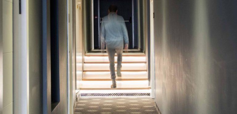 מלון ארקדיה טבריה – מסדרון אגף חרמון