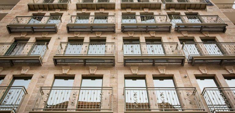 מלון ארתור ירושלים – חזית
