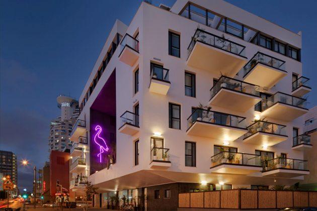 מלון בראון ביץ' האוס תל אביב