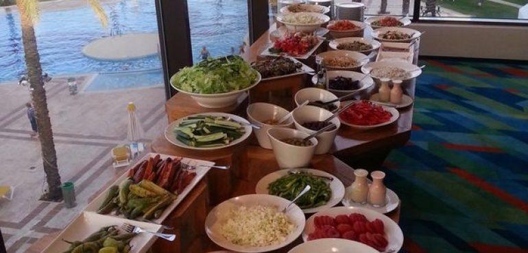 מלון חוף גיא טבריה – חדר אוכל