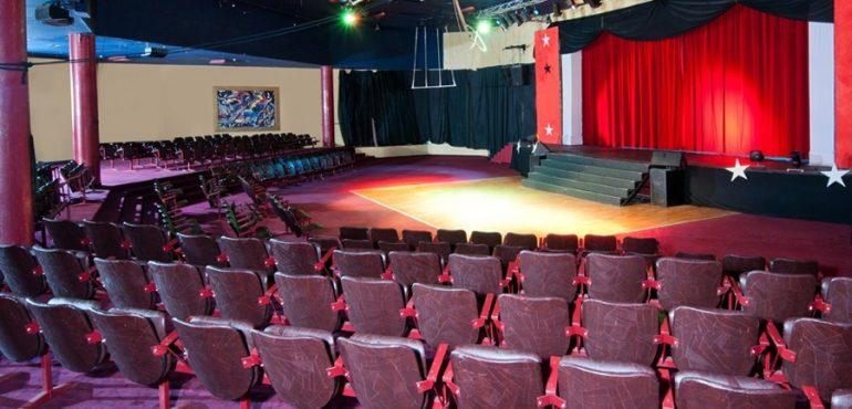 מלון יו קוראל ביץ' אילת – אולם התיאטרון במלון