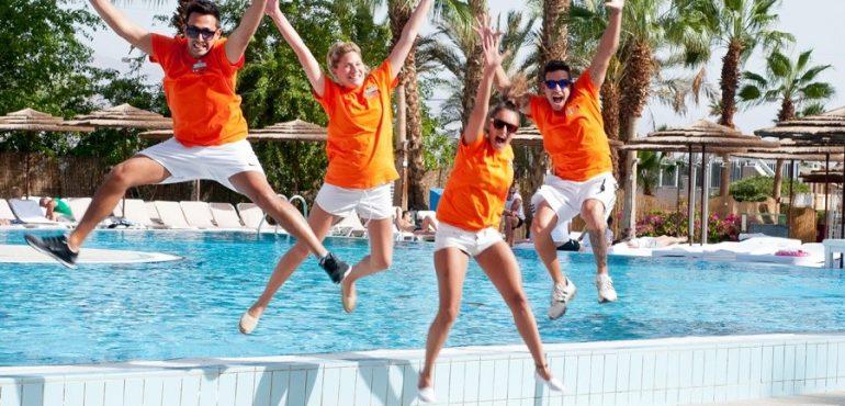 מלון יו קוראל ביץ' אילת – הפעלות לילדים גם בבריכה