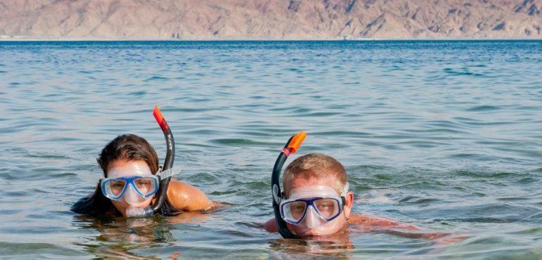 מלון יו קוראל ביץ' אילת – צלילות שנורקל בים