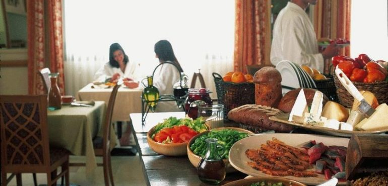מלון כנען ספא צפת – חדר אוכל