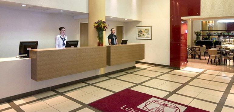 מלון לאונרדו טבריה – קבלה במלון