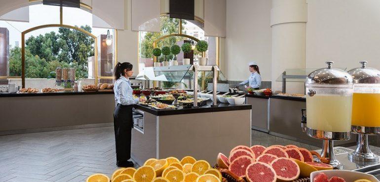 מלון לאונרדו נגב באר שבע – מסעדת המלון