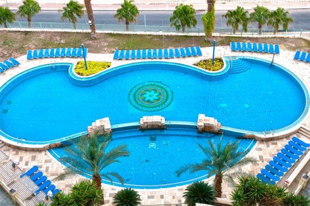מלון לאונרדו פלאזה ים המלח