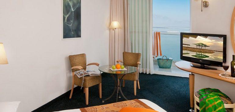 מלון לאונרדו קלאב הכל כלול ים המלח – להתפנק בחדר דלקס