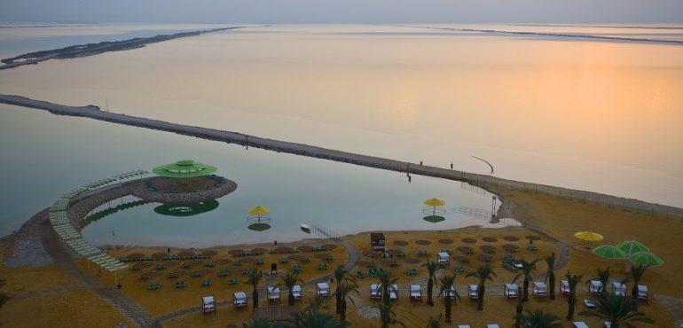 מלון לאונרדו קלאב הכל כלול ים המלח – נוף מהמלון