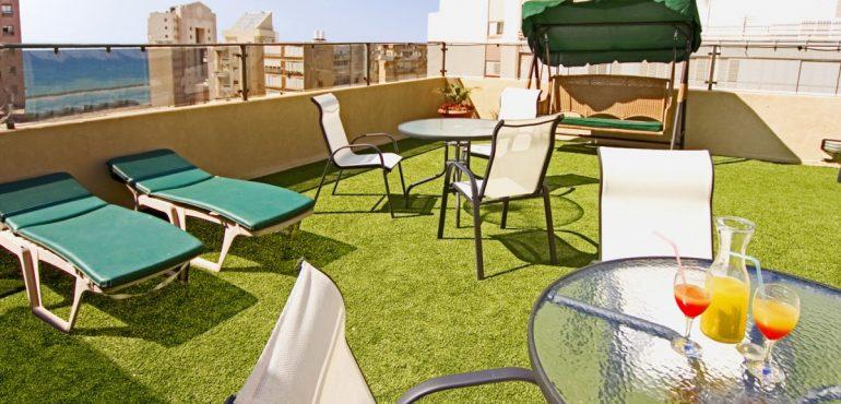 מלון מצפה ים נתניה – גג המלון