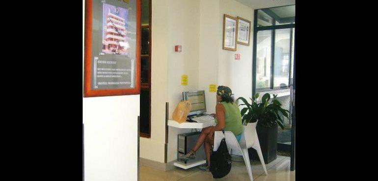 מלון מרגוע נתניה – עמדת אינטרנט