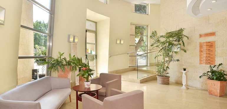 מלון משכנות רות דניאל תל אביב – קבלה ולובי המלון