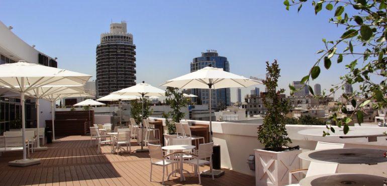מלון סינמה תל אביב – גג המלון