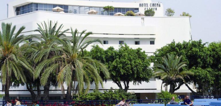 מלון סינמה תל אביב – חזית