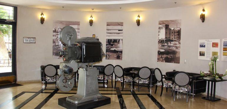 מלון סינמה תל אביב – לובי