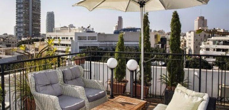 מלון סנטר שיק תל אביב – גג המלון