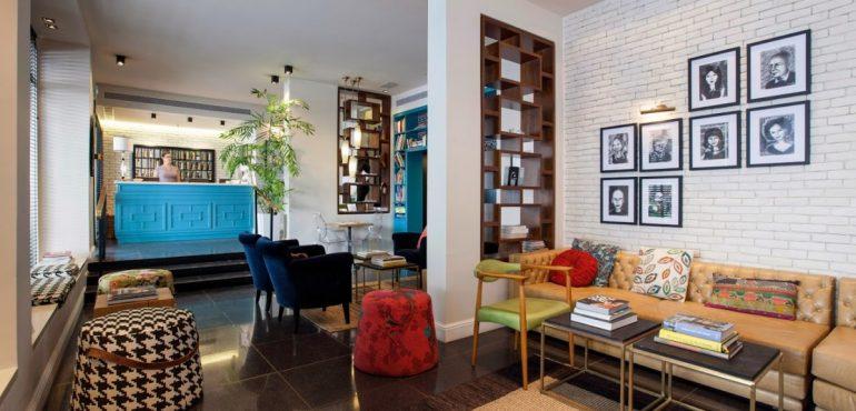 מלון סנטר שיק תל אביב – לובי