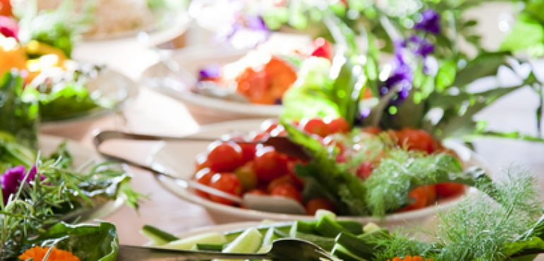 מלון ספא מצפה הימים ראש פינה – מסעדת המלון הצמחונית