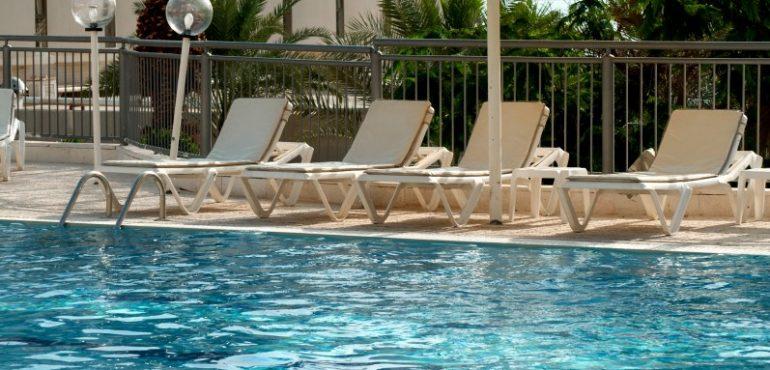 מלון ספא קלאב ים המלח – בריכה