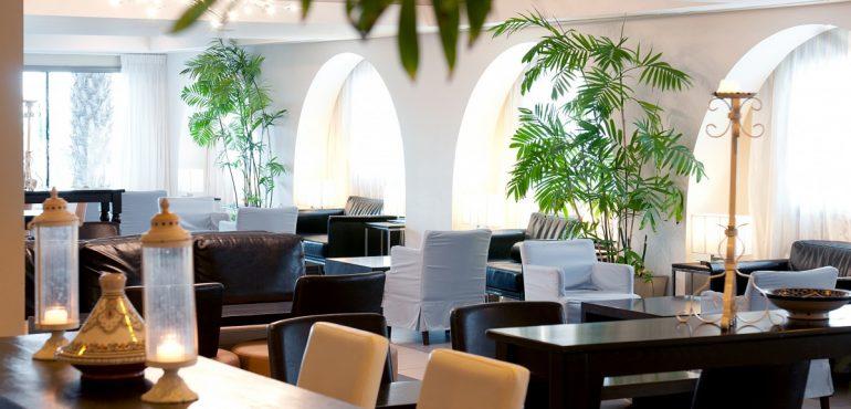 מלון ספא קלאב ים המלח – לובי