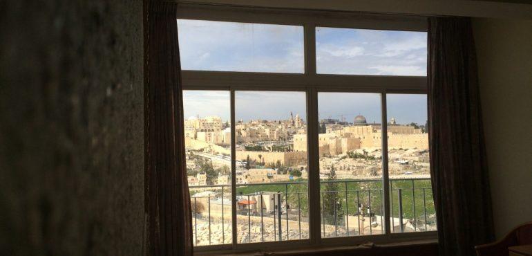 מלון פנורמה ירושלים – חדר