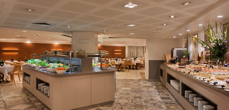 מלון פרימה המלכים ירושלים – חדר אוכל