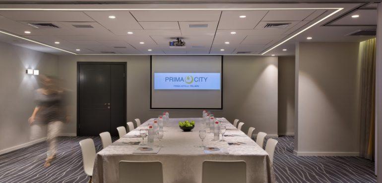 מלון פרימה סיטי תל אביב – חדר ישיבות