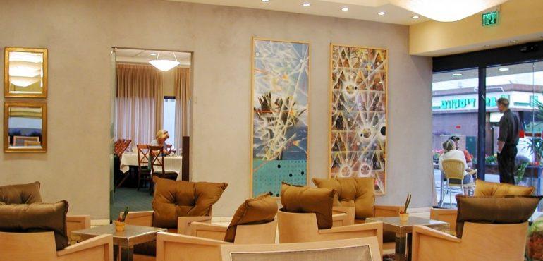 מלון פרימה סיטי תל אביב – לובי