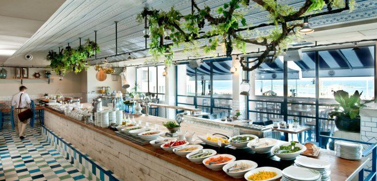 מלון פרימה תל אביב – חדר אוכל