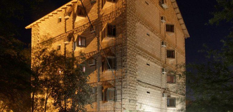 מלון קלאב רמון מצפה רמון - מבנה המלון