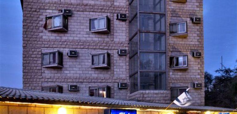 מלון קלאב רמון מצפה רמון – מבנה המלון