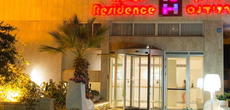 מלון רזידנס נתניה – כניסה