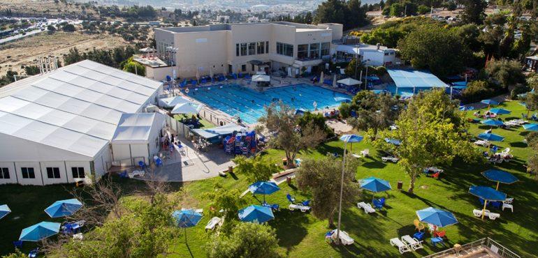 מלון רמת רחל – שלוש הבריכות וחדר הכושר