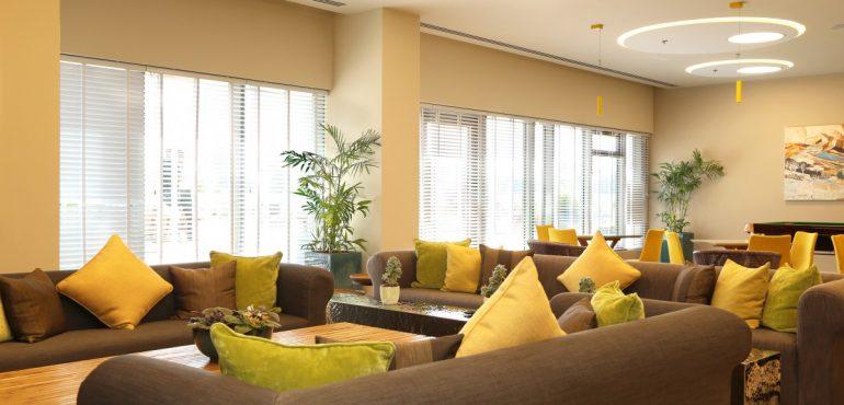 מלון שדות נתבג – לובי המלון
