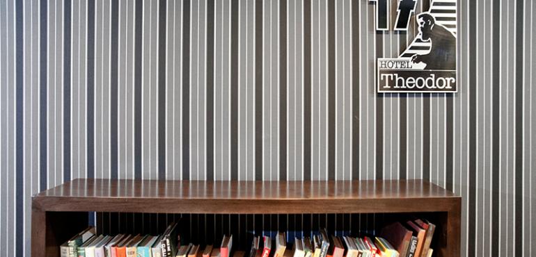מלון תאודור חיפה – ספרייה